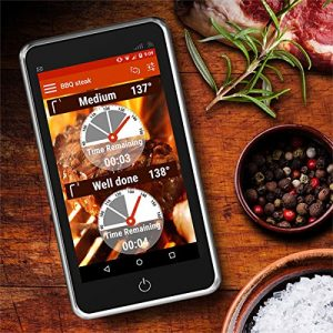 iphone funk grillthermometer