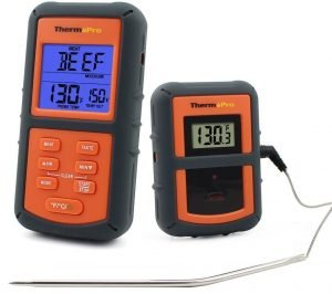klassisches funk-grillthermometer