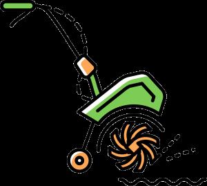 Motorhacke Symbol