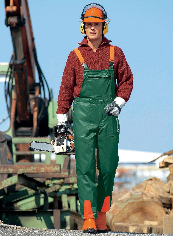 schnittschutzlatzhose arbeitskleidung